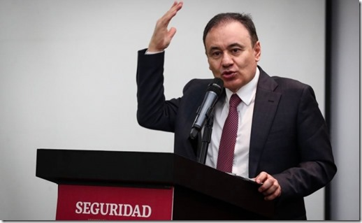 Alfonso Durazo, fuera.